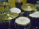 今日のドラム(いつもと一緒)